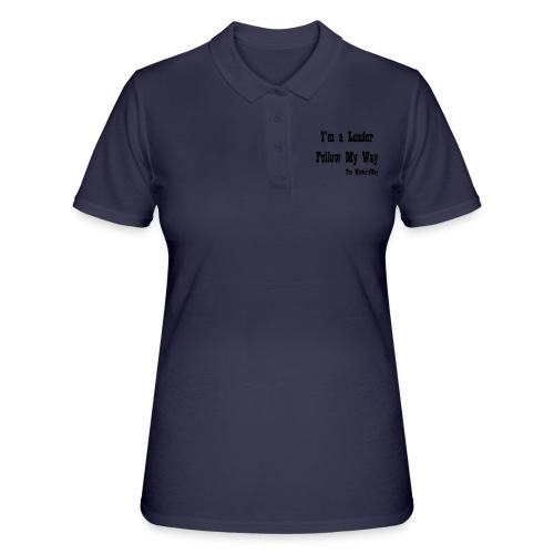 Follow My Way Black - Women's Polo Shirt
