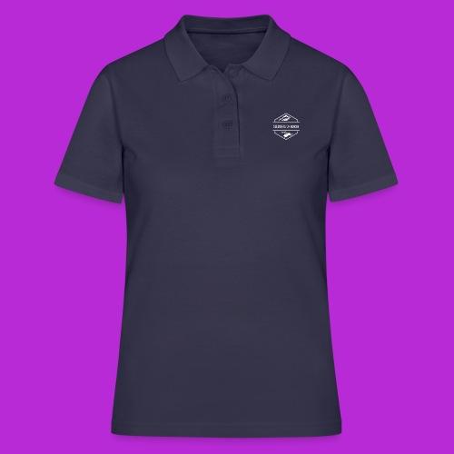Hoodie White Logo - Women's Polo Shirt
