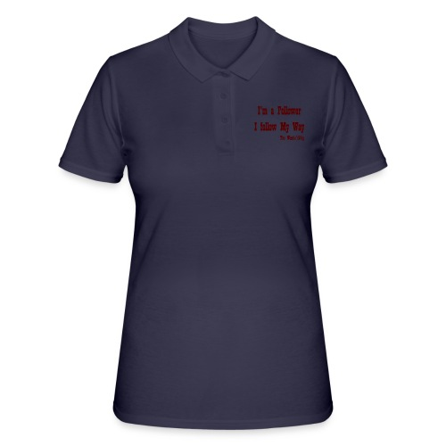 I follow My Way Brown - Women's Polo Shirt