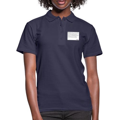 Telemark - die Definition - Frauen Polo Shirt