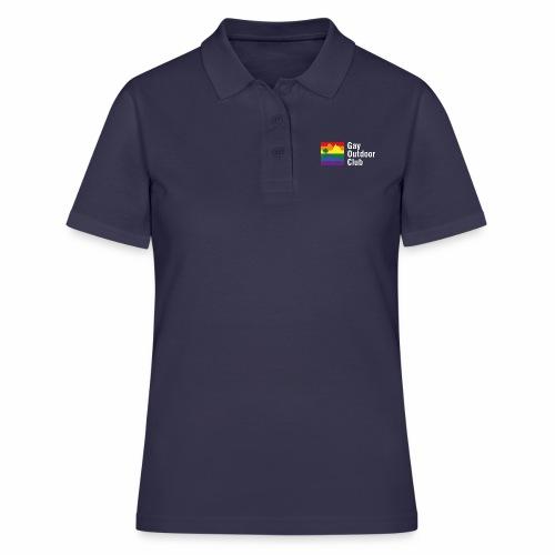 GOC Logo White Text - Women's Polo Shirt