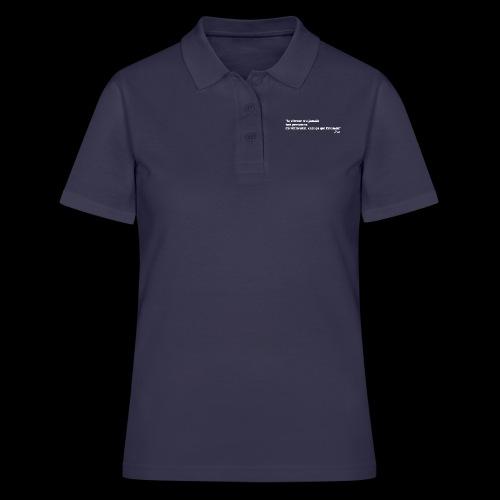 vitesse (blanc) - Women's Polo Shirt