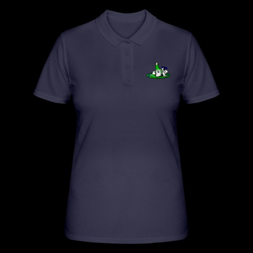 greenSkull svg - Frauen Polo Shirt