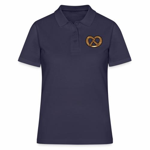 Brezel - Frauen Polo Shirt
