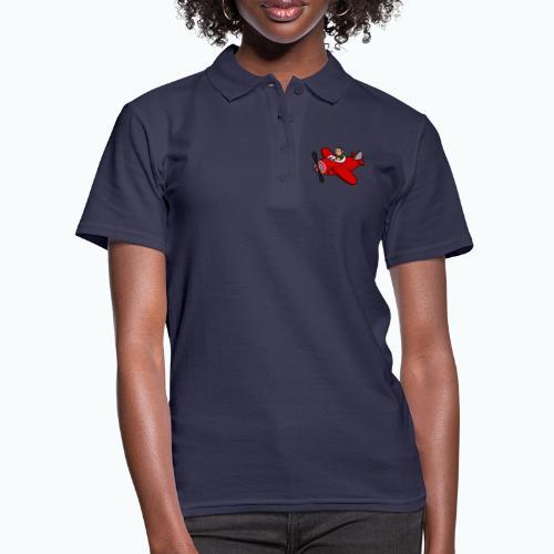 Monkey Moe - Appelsin - Women's Polo Shirt