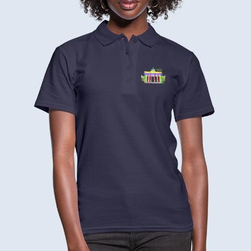 "Berliner ""Brandenburger Tor"" PopArt BLS Design - Frauen Polo Shirt"