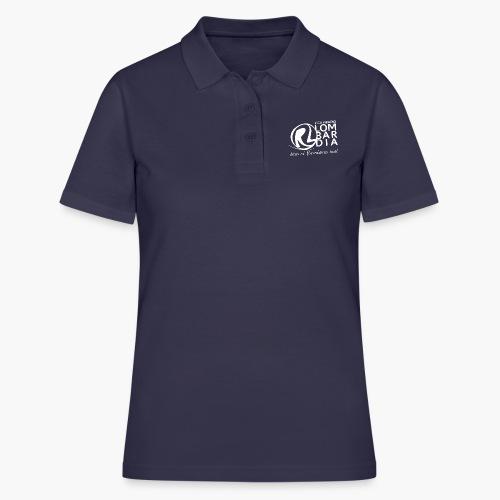 Uomo - Maglietta - Logo Bianco - Women's Polo Shirt