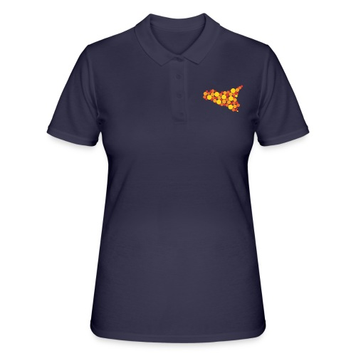 logo sicilia piccolo - Women's Polo Shirt