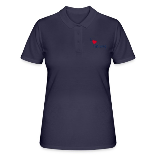 I Love Finland - Women's Polo Shirt