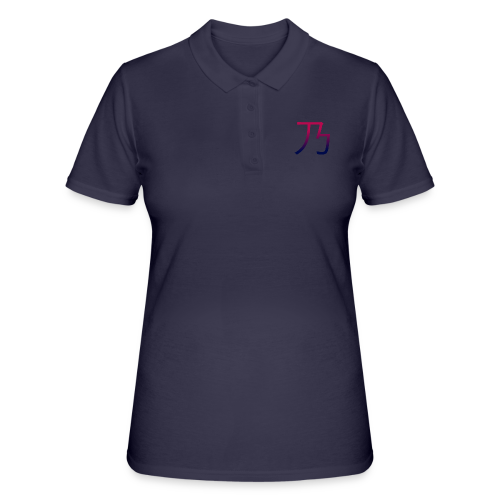 Red & blue B dark - Women's Polo Shirt