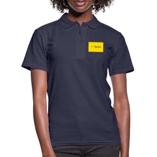 I love Berlin - Frauen Polo Shirt