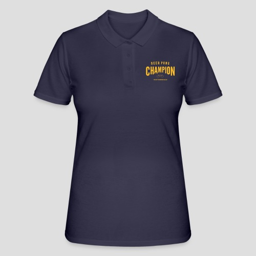 Beerpong Champion T-Shirt - Frauen Polo Shirt