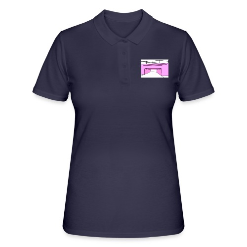 Pink Tunnel - Women's Polo Shirt
