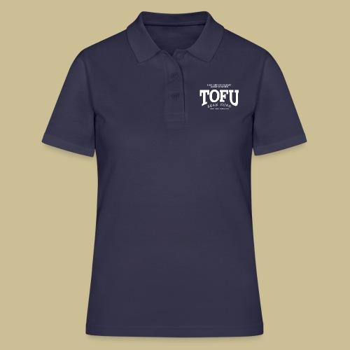 Tofu (white) - Frauen Polo Shirt