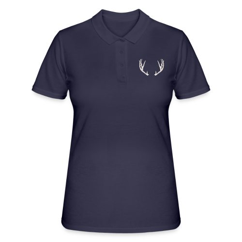 Jäiset poronsarvet - Women's Polo Shirt