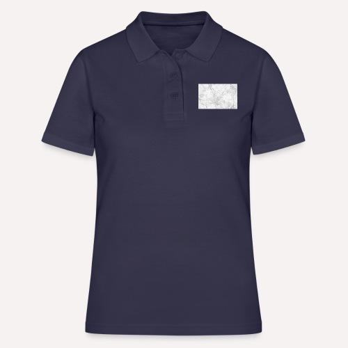Marble design - Women's Polo Shirt