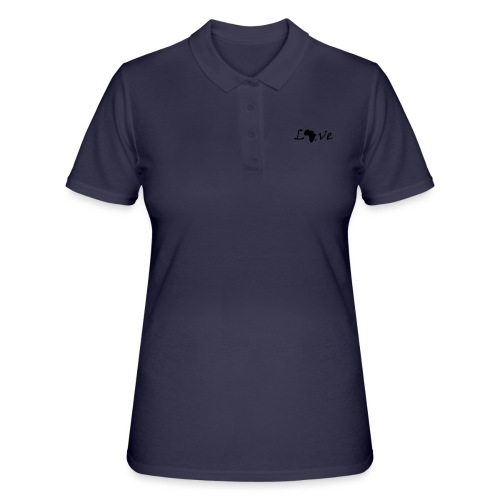 Love Africa - Frauen Polo Shirt