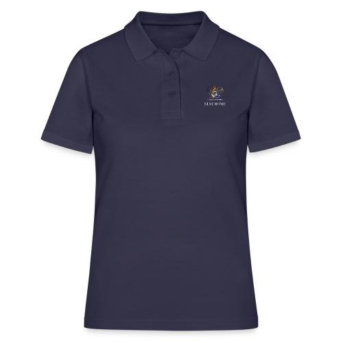 stay home04 - Frauen Polo Shirt