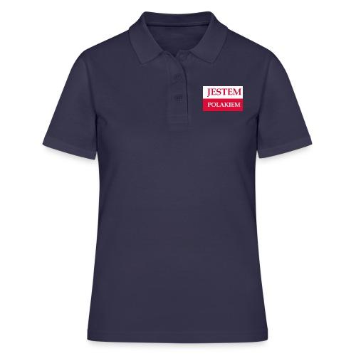 Jestem Polakiem - Koszulka polo damska