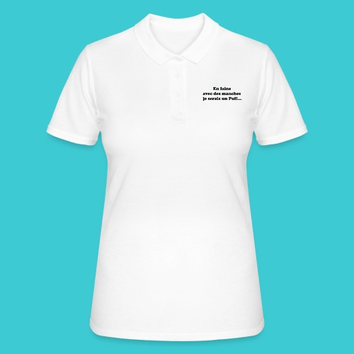t-shirt humour - Women's Polo Shirt
