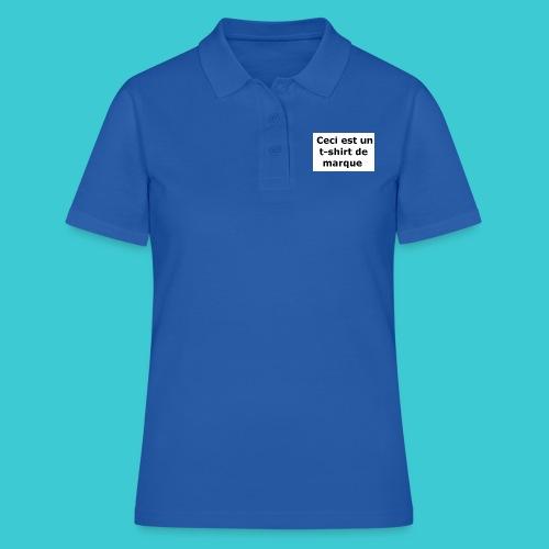 t-shirt2 - Polo Femme