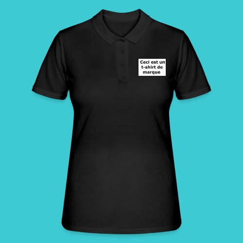 t-shirt2 - Women's Polo Shirt