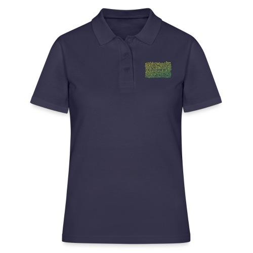 Flowers Green - Women's Polo Shirt