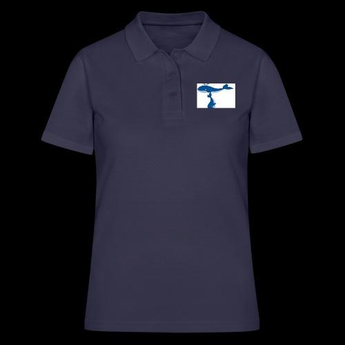 whale t - Women's Polo Shirt