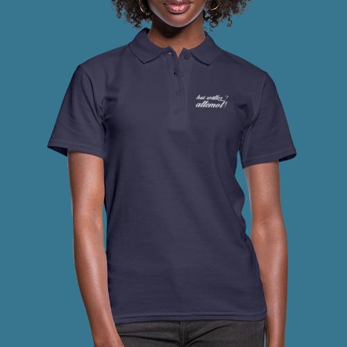 HUI WÄLLER - Frauen Polo Shirt
