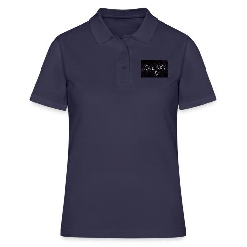 galaxy - Frauen Polo Shirt