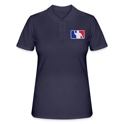 Baseball Umpire Logo - Women's Polo Shirt
