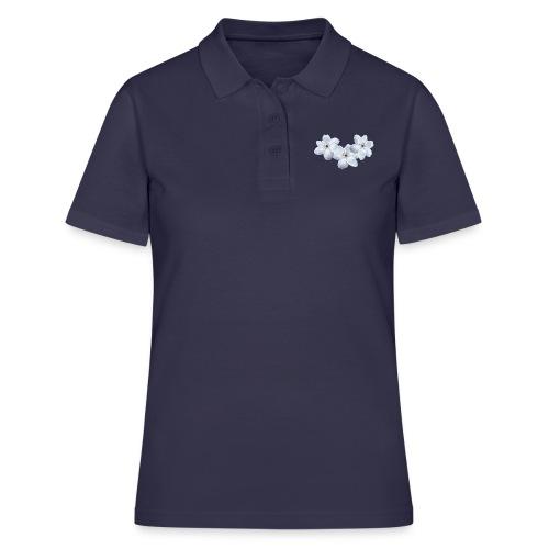 Jalokärhöt, valkoinen - Women's Polo Shirt