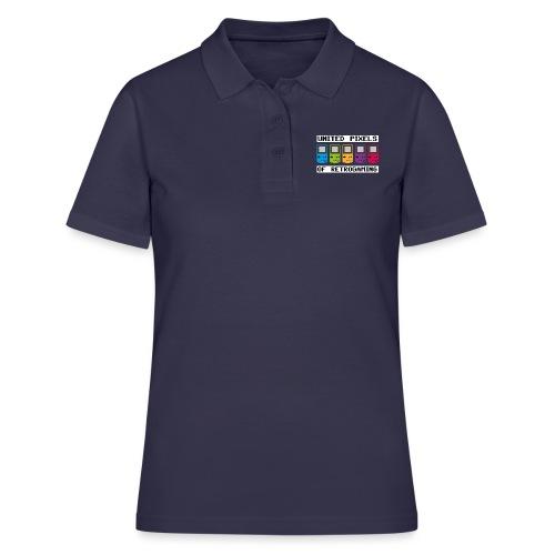 Vereinigten Farben des Retrogamings - Frauen Polo Shirt