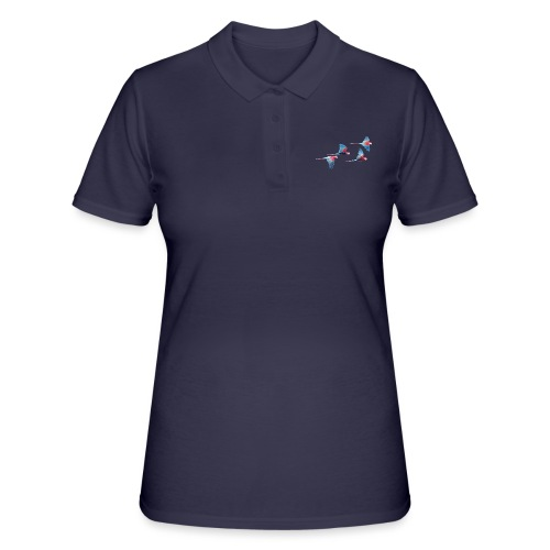 fliegende Papageien - Frauen Polo Shirt