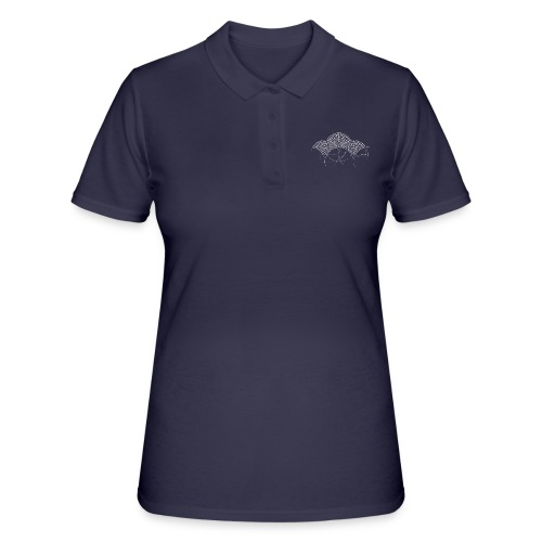 European Fan White - Women's Polo Shirt
