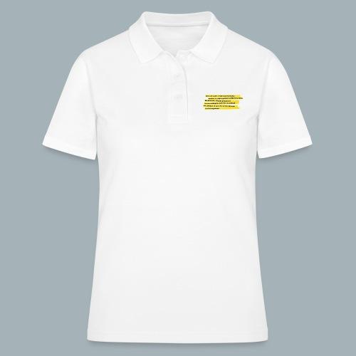 Nederlandse Grondwet T-Shirt - Artikel 1 - Women's Polo Shirt