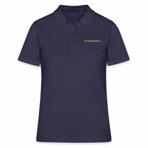 Millionaire. X Entrepreneur. - Women's Polo Shirt