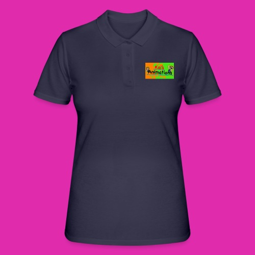 kai's animations logo - Women's Polo Shirt