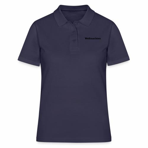 weihnachten - Frauen Polo Shirt