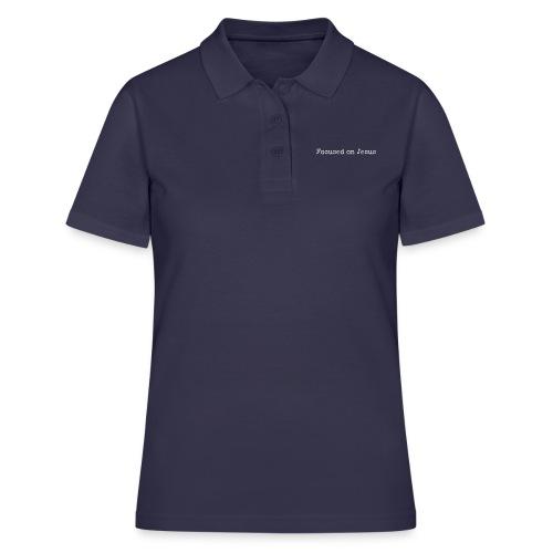 Focus on Jeusus - Frauen Polo Shirt