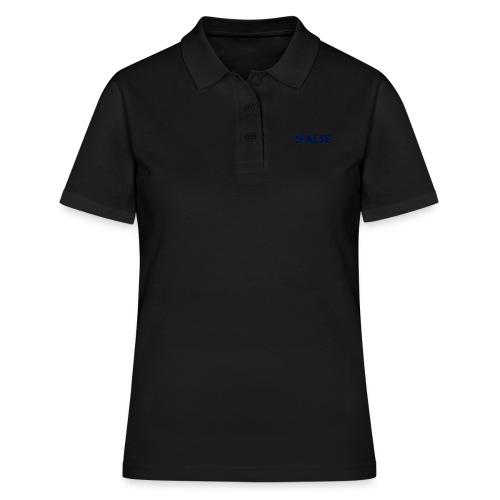 !False - Frauen Polo Shirt