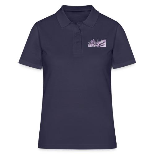 pink digital theme 897 - Women's Polo Shirt