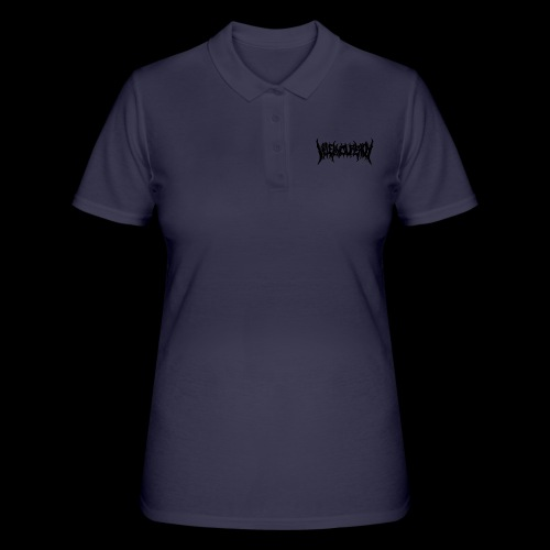 Black band logo - Women's Polo Shirt