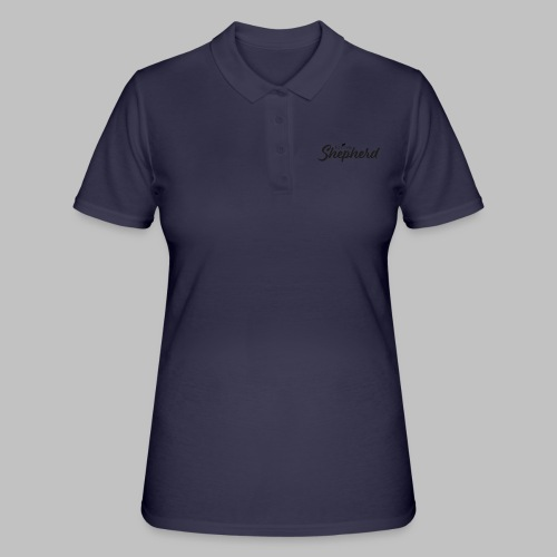 LOVE MY SHEPHERD - Black Edition - Dog Lover - Frauen Polo Shirt