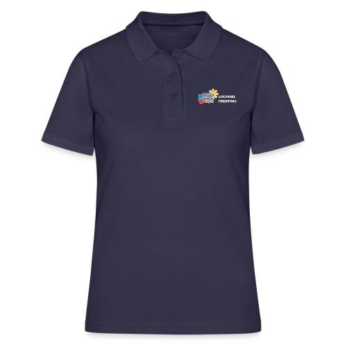 Philippinen-Blog Logo english schwarz/weiss - Frauen Polo Shirt