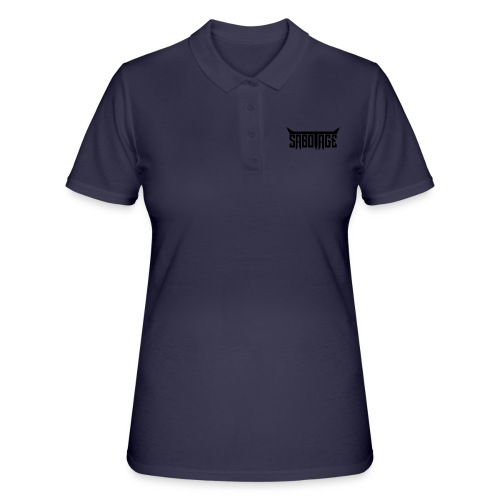 Logo - Zwart op Wit - Women's Polo Shirt