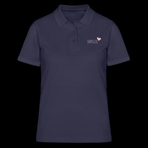 babygirl - Frauen Polo Shirt