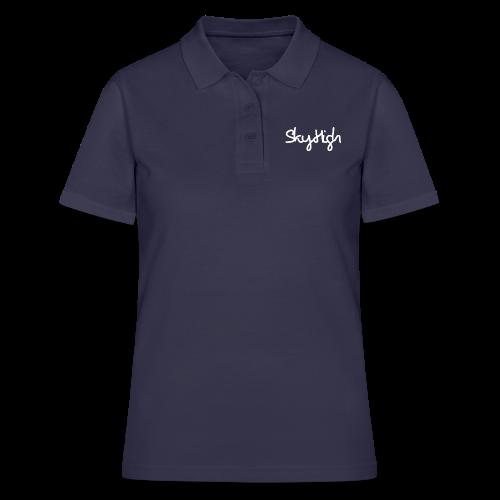 SkyHigh - Men's Premium Hoodie - White Lettering - Women's Polo Shirt