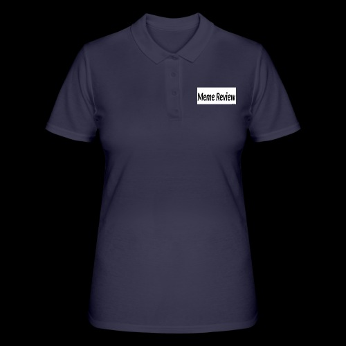 Meme Review - Women's Polo Shirt