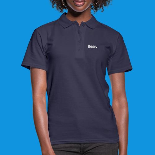 Bear. Retro Bag - Women's Polo Shirt